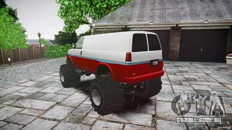 MEGA Speedo v0.9 para GTA 4 traseira esquerda vista