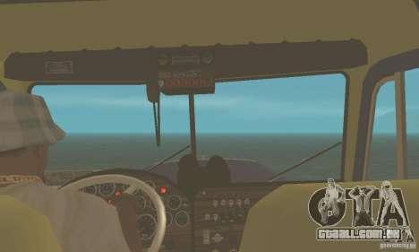 Peterbilt 359 1978 para GTA San Andreas vista direita