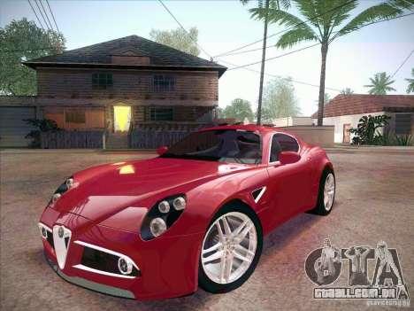 Alfa Romeo 8C Competizione v.2.0 para GTA San Andreas