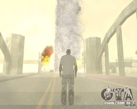 Tornado para GTA San Andreas sétima tela