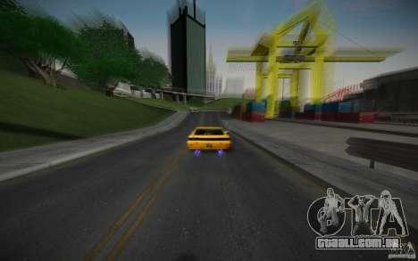 ENB Black Edition para GTA San Andreas sexta tela