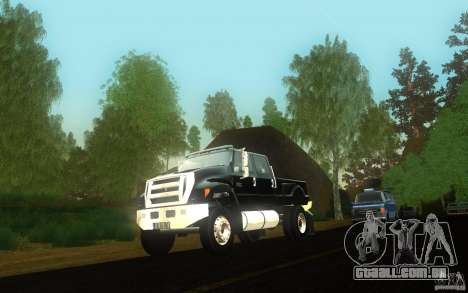 Ford F-650 para GTA San Andreas vista interior