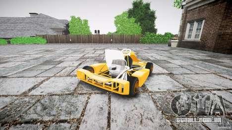 Karting para GTA 4 traseira esquerda vista