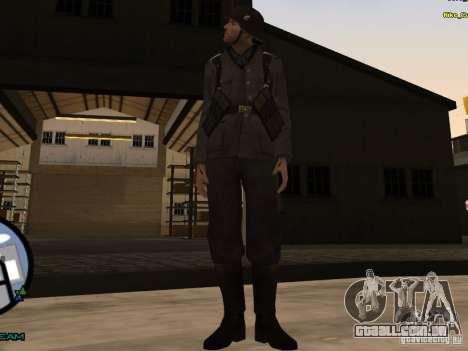 Unteroficer da Wehrmacht para GTA San Andreas segunda tela