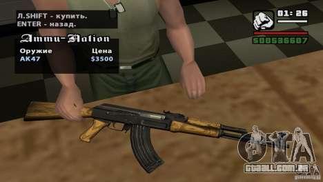 Montagem de HD para GTA San Andreas oitavo tela