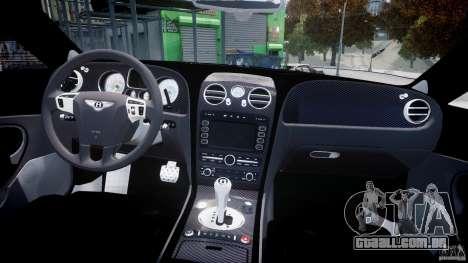 Bentley Continental SS 2010 Gumball 3000 [EPM] para GTA 4 vista lateral