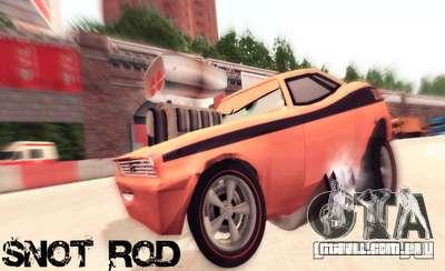 Snot Rod para GTA San Andreas