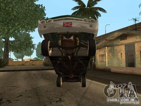 Mercury Park Lane Lowrider para GTA San Andreas vista interior