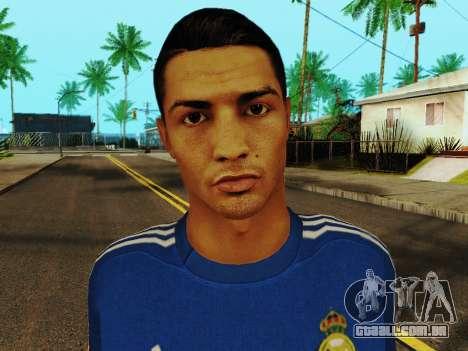 Cristiano Ronaldo v2 para GTA San Andreas sexta tela