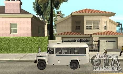 Kavz-39766 para GTA San Andreas esquerda vista