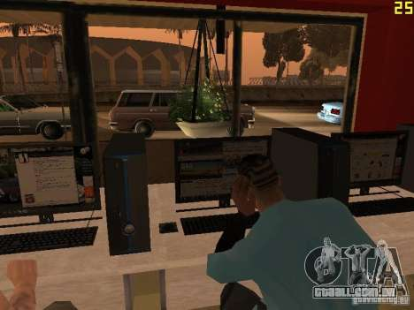 Ganton Cyber Cafe Mod v1.0 para GTA San Andreas sétima tela