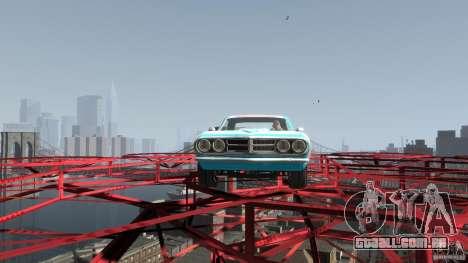 Afterburner Flatout UC para GTA 4 vista de volta