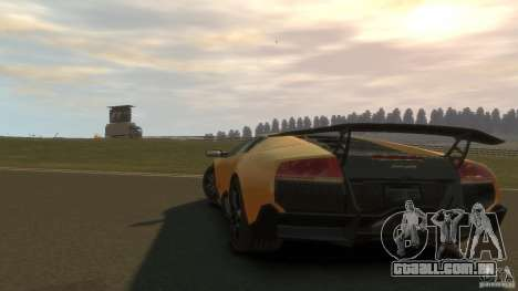 Lamborghini Murcielago VS LP 670 FINAL para GTA 4 vista direita