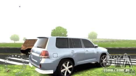 Toyota Land Cruiser 200 RESTALE para GTA 4 vista de volta