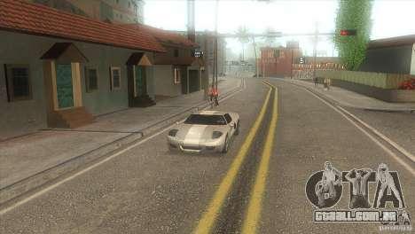 Estrada de qualidade no LS para GTA San Andreas terceira tela