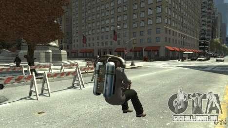 Jetpack para GTA 4 vista direita