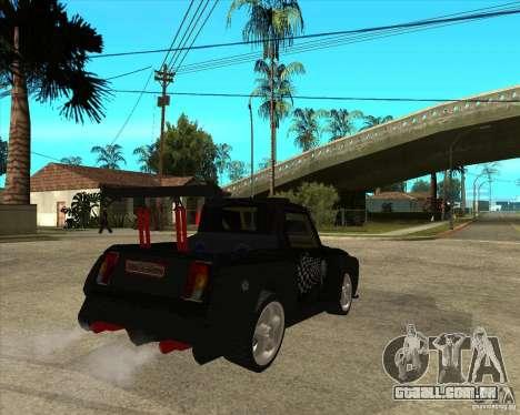 VAZ 2104 volk para GTA San Andreas traseira esquerda vista