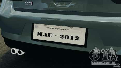 Volkswagen Golf Sportline 2011 para GTA 4 motor