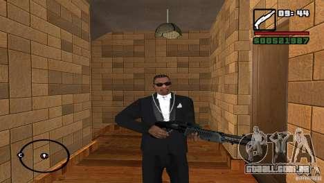 Montagem de HD para GTA San Andreas quinto tela