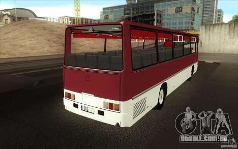 IKARUS 250 para vista lateral GTA San Andreas