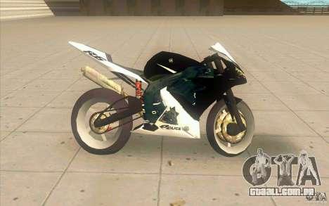 Yamaha Copbike Beta para GTA San Andreas esquerda vista