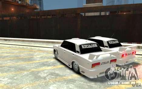 ВАЗ 21074 para GTA 4 traseira esquerda vista