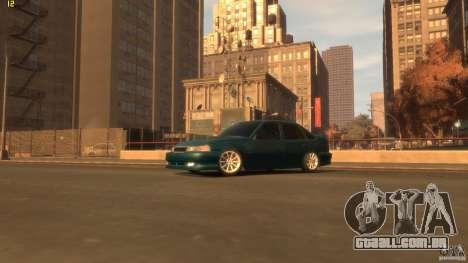 Daewoo Nexia Tuning para GTA 4 traseira esquerda vista