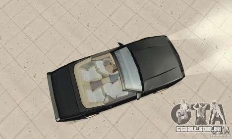 Chevrolet Camaro RS 1991 Convertible para GTA San Andreas vista direita
