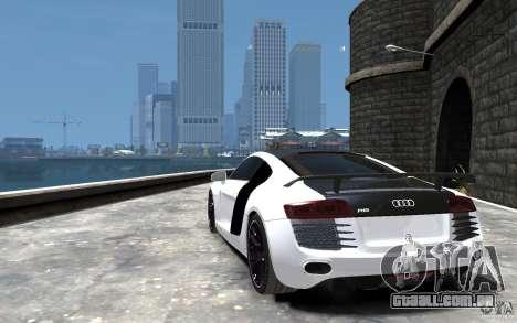 Audi R8 2008 Beta para GTA 4 traseira esquerda vista