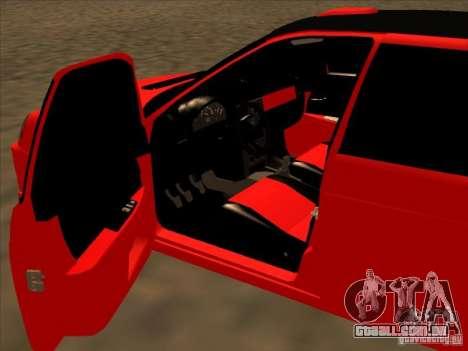 Esporte VAZ-2172 para GTA San Andreas esquerda vista