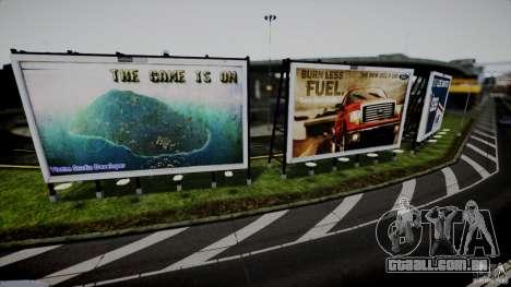 Realistic Airport Billboard para GTA 4