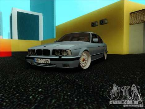 BMW 5 series E34 para GTA San Andreas