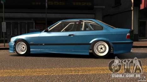 BMW M3 E36 FSC para GTA 4 esquerda vista