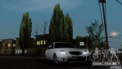 LADA 2170 Califórnia para GTA San Andreas vista direita