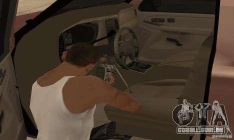 Chevrolet Suburban para GTA San Andreas vista inferior