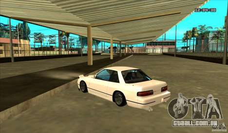 Nissan Silvia S13 Old School para GTA San Andreas esquerda vista