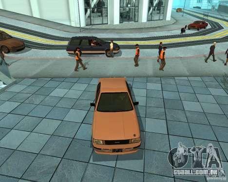 Futo de GTA 4 para GTA San Andreas esquerda vista