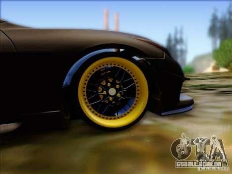 Infiniti G37 HellaFlush para GTA San Andreas vista traseira