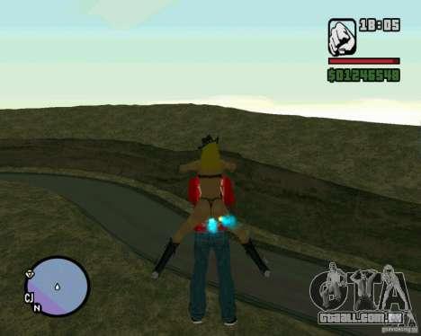Ebisu Touge para GTA San Andreas por diante tela