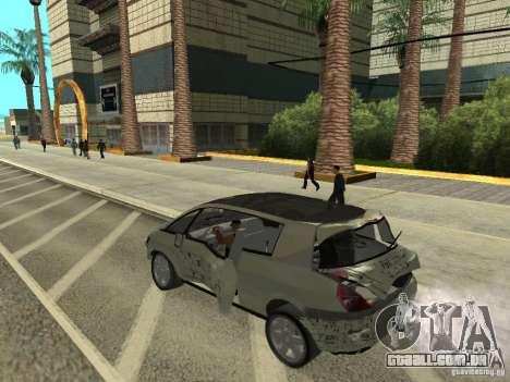 Renault Avantime para GTA San Andreas vista traseira