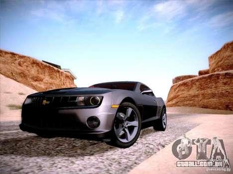 Chevrolet Camaro SS para GTA San Andreas vista direita