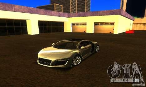 Audi R8 V12 TDI para GTA San Andreas