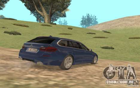 BMW M5 F11 Touring para vista lateral GTA San Andreas
