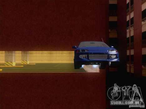 Honda Civic IV GTI para GTA San Andreas vista interior