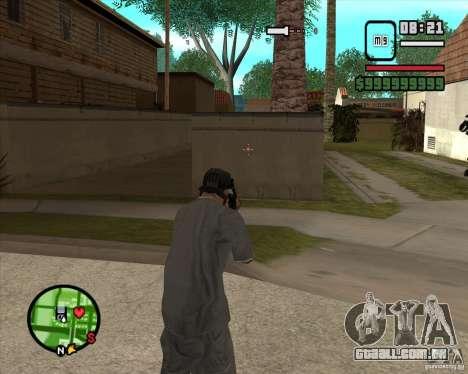 Sinos e assobios para armas para GTA San Andreas quinto tela
