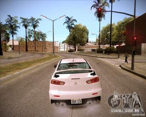 ENBSeries by slavheg para GTA San Andreas por diante tela