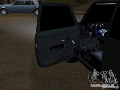 Lada Niva 21214 Tuning para GTA San Andreas vista interior