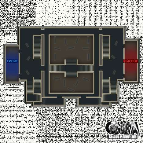 Biblioteca-mapa de Point Blank para GTA San Andreas quinto tela