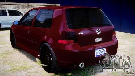 Volkswagen Golf IV R32 v2.0 para GTA 4 vista direita