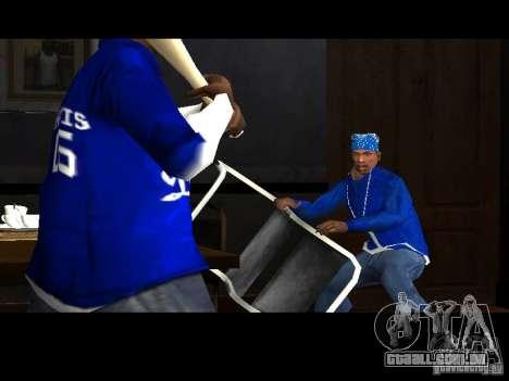 Piru Street Crips para GTA San Andreas por diante tela